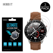 3Pack Explosion-Proof Screen Protector For LEMFO 2019 Newest Ip68 Smart Watch Men Anti-scratch Anti-bubbles Film 1.2 inch