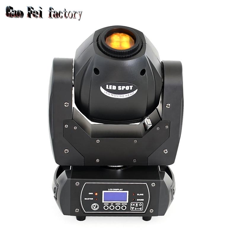 60W Led Moving Head Light Spot Pattern Rotation Gobo 3 Face Prism DJ Stage Light