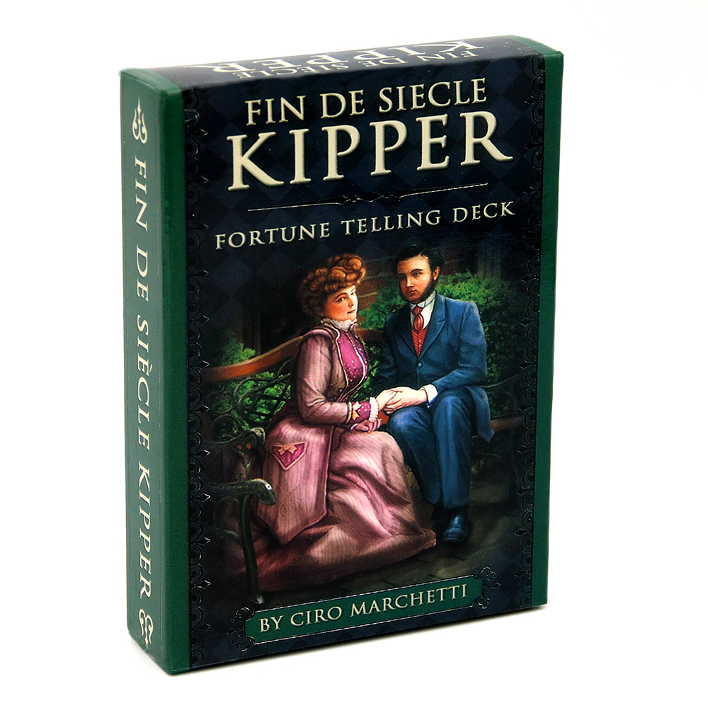 FIN DE SIÈCLE SIECLE KIPPER Fortune Telling 39 Cards Deck Oracle Cards Deck Ciro Marchetti Esoteric Game New Ciro Marchetti