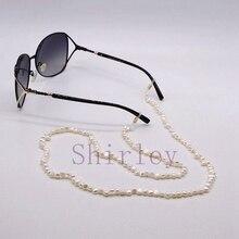 Inci gözlük zinciri, doğal barok inci, yaratıcı gözlük zinciri, güneş gözlüğü aksesuarları, moda takı ücretsiz kargo