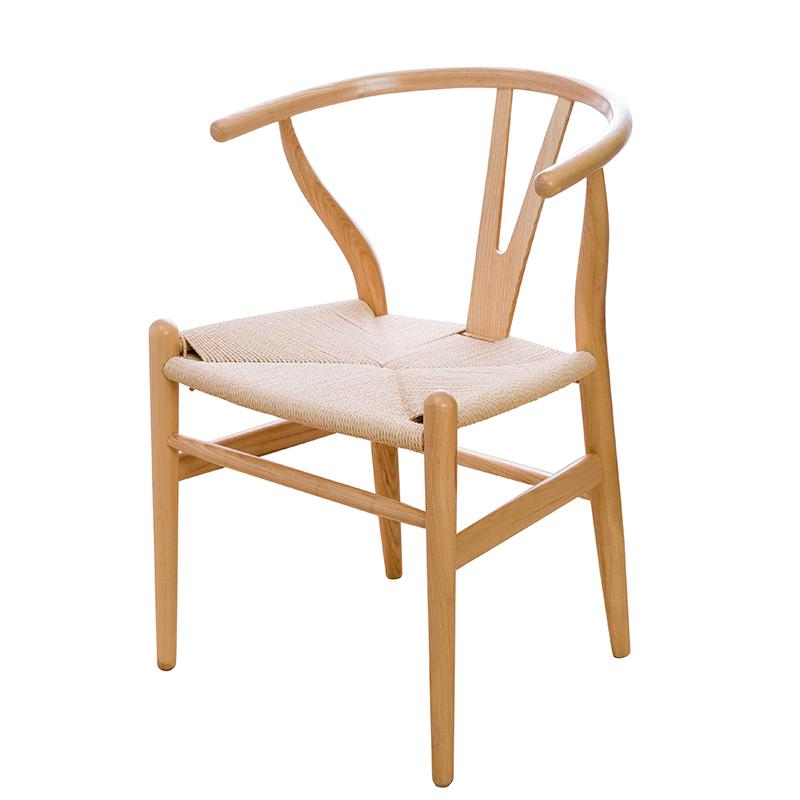 Y Chair Chinese Solid Wood Dining Chair Leisure Armchair Nordic Coffee Chair Home Log Study Computer Chair Backrest