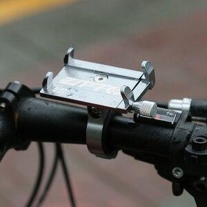 Image 2 - אופניים קטנוע אלומיניום סגסוגת נייד טלפון מחזיק MTB הרי אופני סוגר טלפון סלולרי Stand רכיבה על אופניים אבזרים