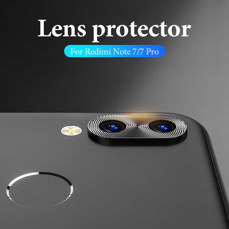 Lente da câmera anel de proteção para xiao mi 9 8 se mi 9t mi x3 vermelho mi nota 7 k20 pro 7 metal lente da câmera do telefone protetor capa caso
