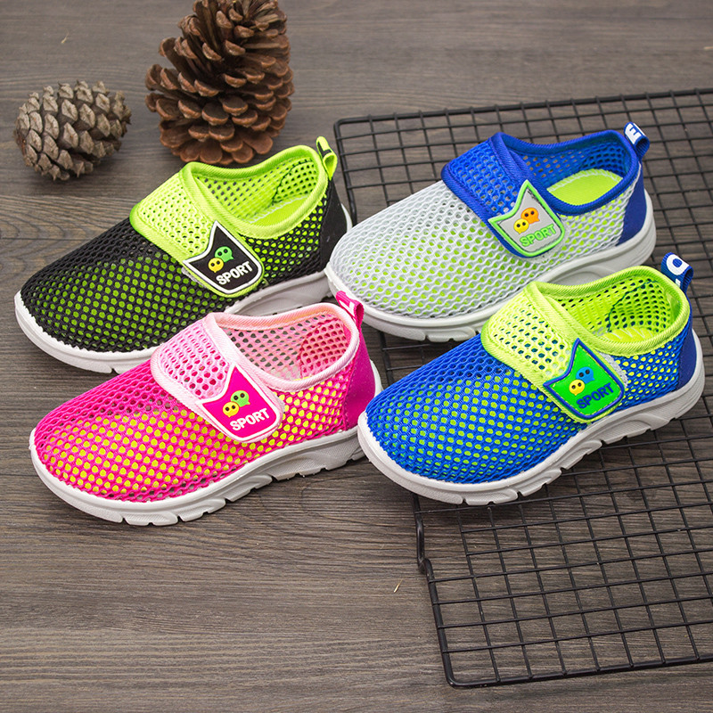 Sandals For Boys; Summer Shoes For Girls Breathable Mesh Fabric Children's Beach Shoes Children's Casual Shoes