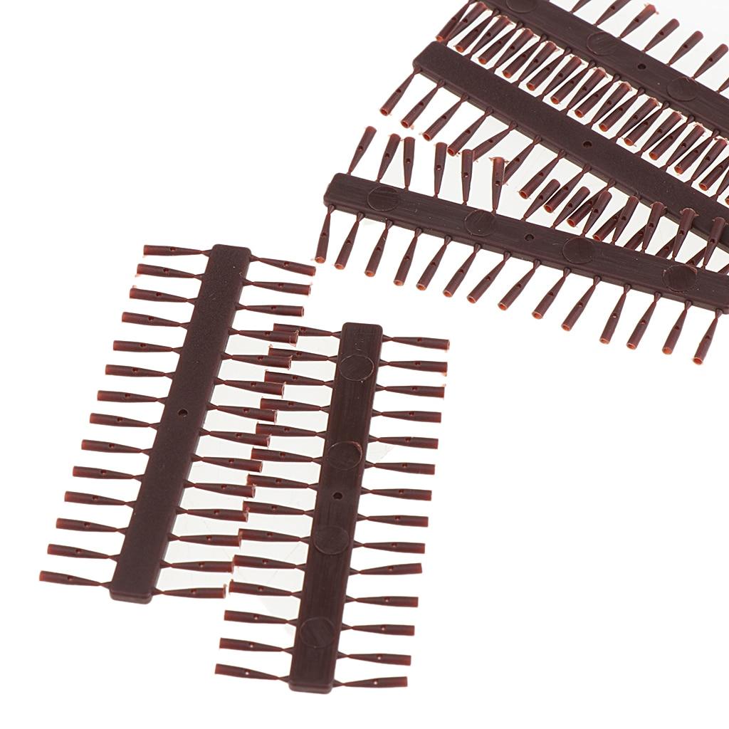 10 Set 280 Stück Hair Rig Stops Boilie Köderstopps