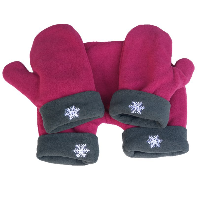 Details about  /Lover Glove Couple Gloves Polar Fleece Sweethearts Thicken Winter Warm Mitten TR