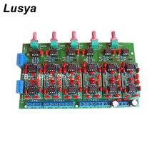 Hi End Linkwitz-Riley Circuit Elektronische Prestage 4-Way Crossover Board 2 Channel Crossover-Punt Verstelbare T1418