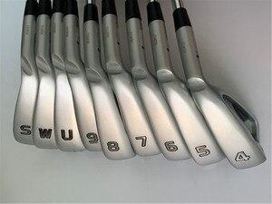 Image 1 - BIRDIEMaKe Golf Clubs G410 Irons G410 Golf Eisen Set 4 9SUW R/S/SR Flex Welle Mit Kopf Abdeckung