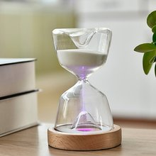 Creative Toilet Hourglass Timer Desktop Fun Toy 15 Minutes Hourglass Home Kitchen And Bathroom Gadgets недорого