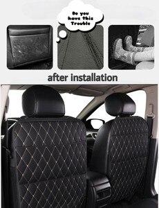 Защитные чехлы для автомобильных сидений, Защитные чехлы из экокожи для детских сидений, чехлы для маленьких собак от грязи и грязи.для авто...