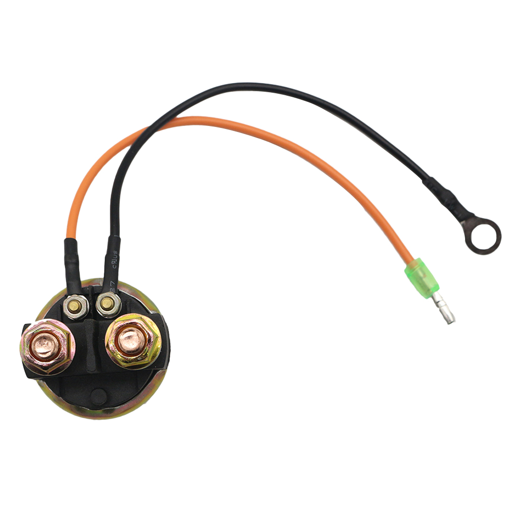 MagiDeal 12V Starter Solenoid Relay Replace OEM #6G1-81941-10-00 68V-8194A-00-00 YE1260RE100ZR 6-90 HP 6G1-81940-10//6G181941