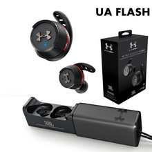 UA FLASH Ture Wireless Bluetooth Sports Earphones Waterproof Running Headphones with Handsfree Call Mic For JBL