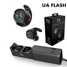 Ua flash ture esportes sem fio bluetooth fones de ouvido à prova dwaterproof água correndo com chamada handsfree mic para jbl