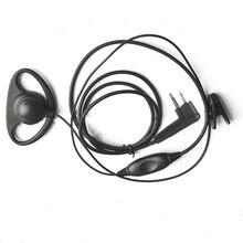 Токи воки формы Д-гарнитура наушник уха крюк наушники двухстороннее Радио М тип для Motorola купить FEIDAXIN-официальный