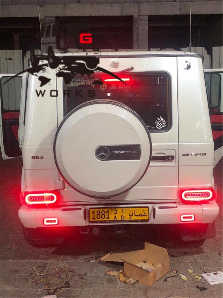 rear bumper LED W463 (16)