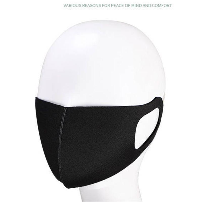 Image 3 - 3Pcs Anti Virus Sponge Mouth Mask Washable Dustproof Reusable  Face Mask Adult Kid Health Anti Dust Protective Cold PreventionWomens  Masks