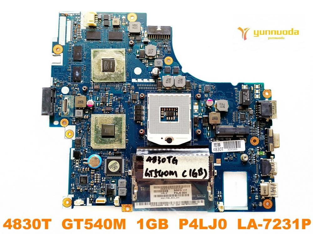 Original for ACER 4830T laptop motherboard 4830T  GT540M  1GB  P4LJ0  LA 7231P  tested good free shipping Laptop Motherboard     - title=