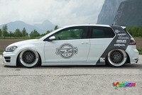 C pillar Car Personality Sticker Decoration For vw Golf Polo Z2CA1008