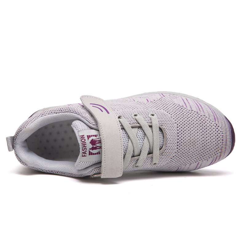 Womens Soft Sole Breathable Comfortable Walking Shoes