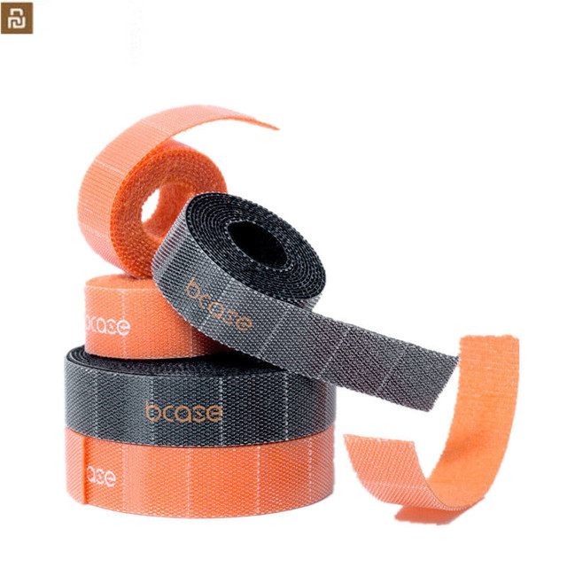 Youpin Bcase 10mm adesivo magico strappabile durevole adesivo magico PP dischi ad anello Velcro fascetta Gadget 1M / 3M rubinetto magico