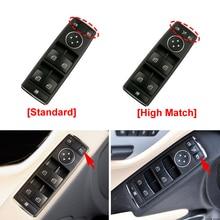 New Car Power Window Control Button Switch For Mercedes Benz W204 W212 X204 C E Class GLK 2007-2015 Car Interior Accessories new electric power window switch a1698206710 for mercedes benz b klasse w245 a 169 820 67 10 1698206710