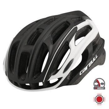 CAIRBULL 4D PLUS Casco de Bicicleta de carretera, Cascos de Bicicleta con luz trasera, ultraligero, PC, casco de ciclismo, casco de carreras
