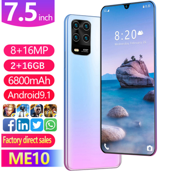 ME10 Smart Android Mobile Phone 7.5-Inch Large Screen Hot Selling