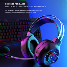 Gaming Headphones Gamer Headset 5 1 7 1USB Over-Ear Stereo Hi-fi Earphone Quality Bass Stereo PC Wired Headset With Mic In Stock cheap CARPRIE NONE Balanced Armature CN(Origin) Bluetooth for Video Game User Manual up to 32 Ω Gaming Headset With Mic Sealed