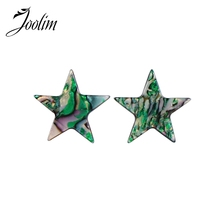 Joolim five-pointed star Resin Stud Earring Trendy Customized Jewelry