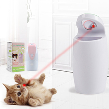 USB Charging Automatic Rotating Laser Light Infrared Laser Funny Cat Toy Electric Cat Toy Laser Funny Cat Stick 5 automatic 360 degree rotating laser light cat interactive toy