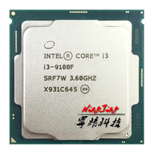 Quad-Core CPU I3 9100f 1151 Processorlga Ghz 65W Intel 6M Srf7w/srf6n