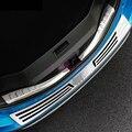 Zubehör Für Toyota RAV4 XA40 2016 2017 2018 Kofferraum Stoßstange Schutz Platte Tür Sill Trim #304 Edelstahl auto Styling Chrom-Styling Kraftfahrzeuge und Motorräder -