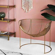 Nordic Modern Net Red Chairs Ins Simple Bedroom Chair Customized Sofa Cafe Chairs Art Dining Table Living Room Chair(China)