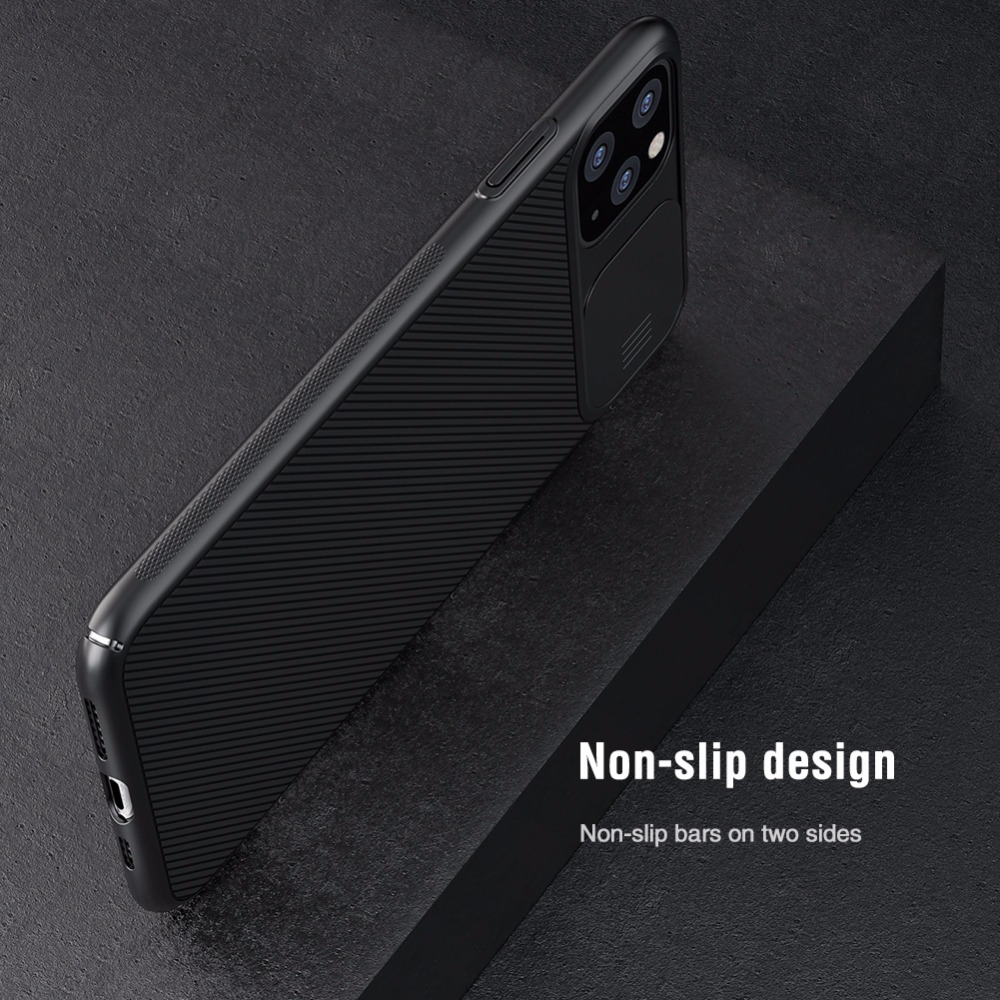 iPhone 12 11 11Pro Max XR XS Max X 7 8 6S Plus 11Pro Slide Soft Silicone Shockproof Matte Cover