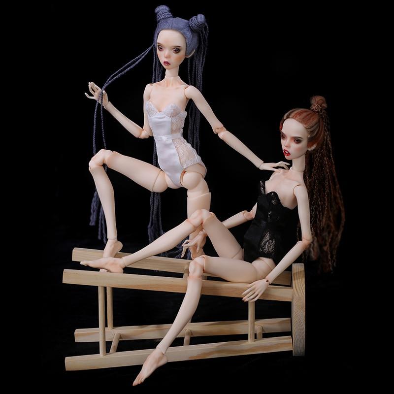 1/4 Beth &Phyllis FreedomTeller BJD SD Doll Girl Dollenchanted Slender Body Free Eye Balls Popovy Sister Lillycat