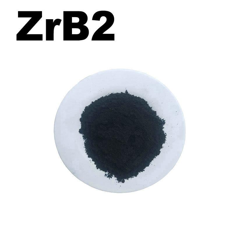 ZrB2 Zirconium Boride High Purity Powder 99.9% For R&D Ultrafine Nano Powders About 1 Micro Meter For Ceramic Materials Powder