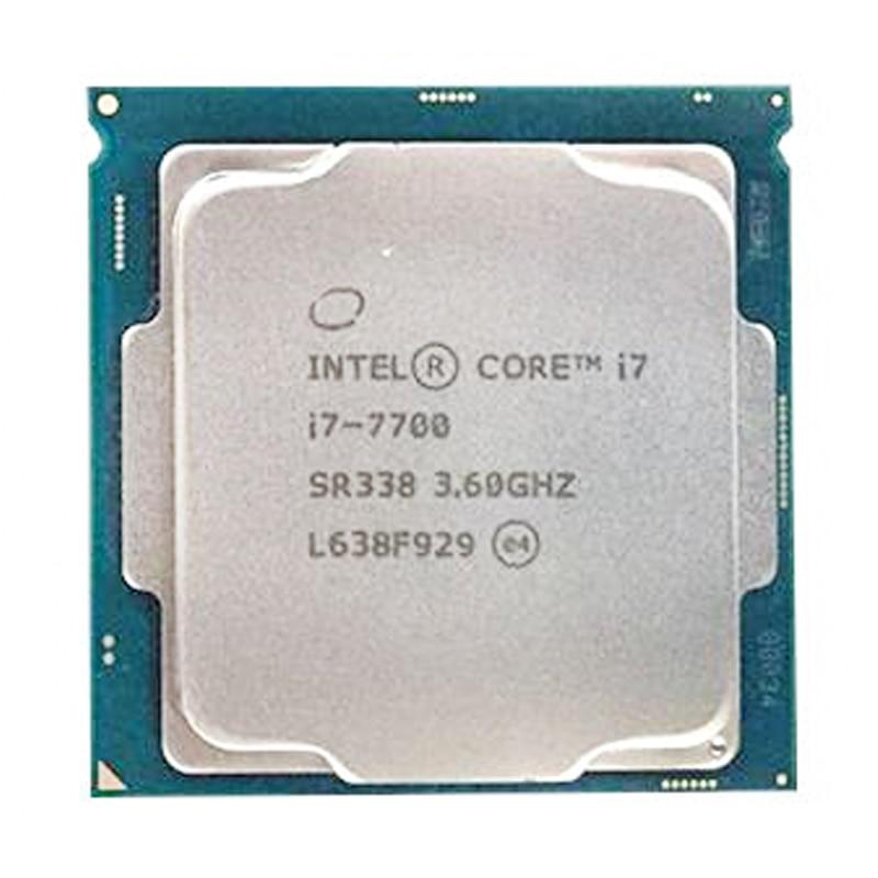Intel Core i7-7700 Quad-Core 4 Core 8 threads cpu 3,6 GHz 8-Draad LGA 1151 65 W 14nm i7 7700 prozessor