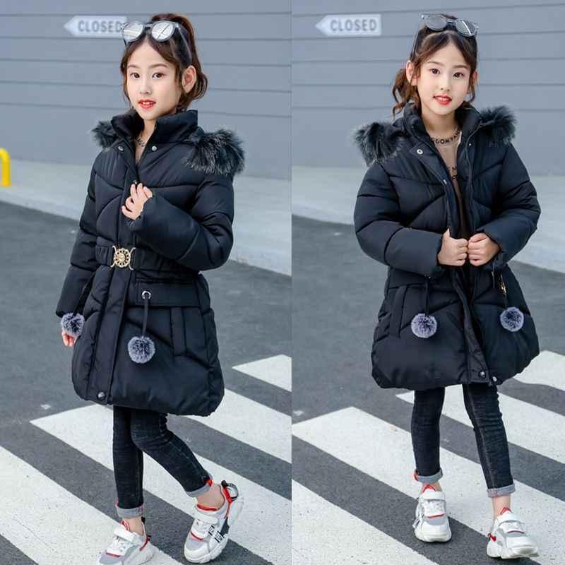 2019 เสื้อผ้าเด็กฤดูหนาวหนาอุ่นบางเอวผู้หญิงผ้าฝ้ายลงเสื้อแจ็คเก็ต