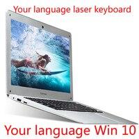 P14 ноутбук 14 дюймов Intel Atom Z8350 4G 64G ноутбук клавиатура и OS Язык доступны на выбор
