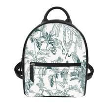 Индивидуальная школьная сумка для подростков с тропическим принтом