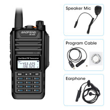 Baofeng BF-A58 Waterproof Two Way Radio Dual Band UHF VHF 5W CB Ham LCD Display FM Transceiver 128CH Scanner woki toki