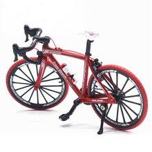 1:10 сплав литой металлический велосипед дорожный велосипед Модель велосипедные игрушки для детей Подарки Игрушки транспортные средства для детей