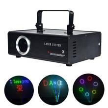 AUCD 40 KPPS 500mW RGB Laser Bearbeiten SD ILDA Programm Karte Projektor Lichter DMX Animation Scan DJ Zeigen Bühne ausrüstung Beleuchtung