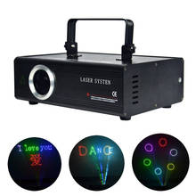 AUCD 40 KPPS 500mW RGB Laser Edit SD ILDA Program Card Projector Lights DMX Animation Scan DJ Show Stage Equipment Lighting