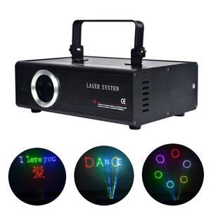 Image 1 - AUCD 40 KPPS 500mW RGB Laser Edit SD ILDA Program Card Projector Lights DMX Animation Scan DJ Show Stage Equipment Lighting