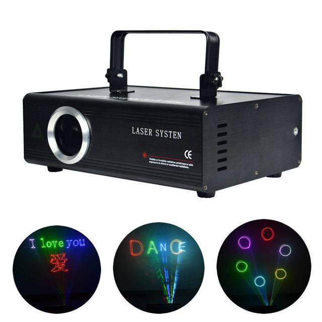AUCD 40 KPPS 500mW RGB лазерное редактирование SD ILDA программа карта проектор свет DMX анимация сканирование DJ шоу сценическое оборудование освещение