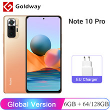 Versión Global Xiaomi Redmi Nota 10 Pro 6GB 64GB / 128GB 108MP Quad Cámara Snapdragon 732G 6,67