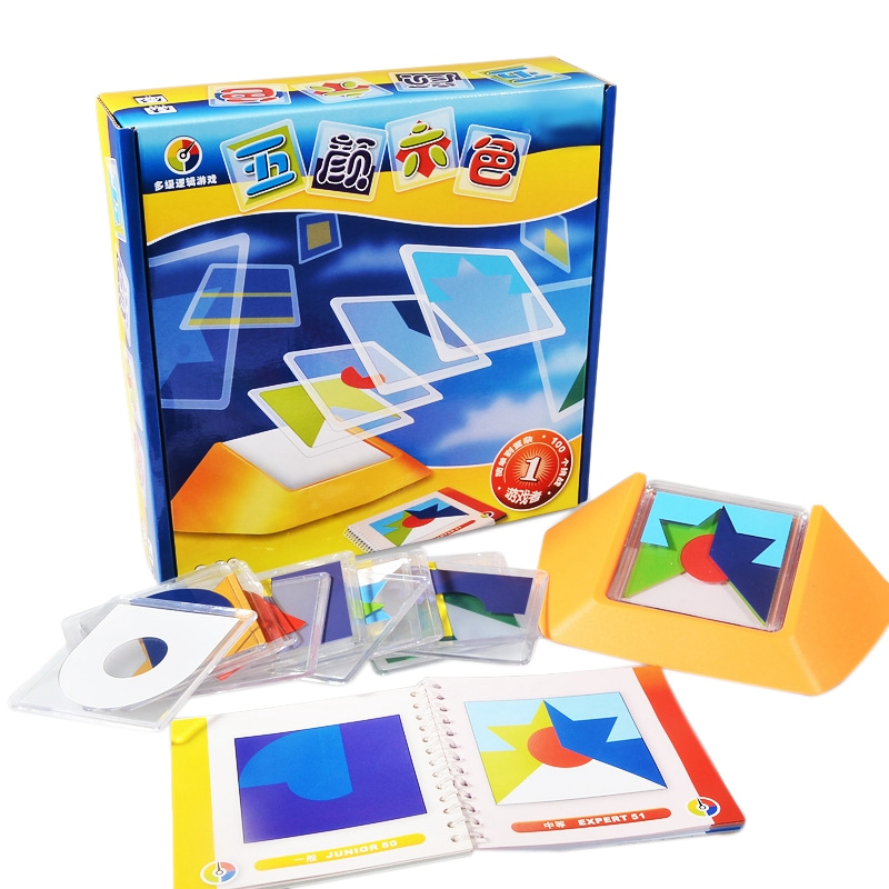 100 desafio código de cor quebra-cabeça jogos tangram quebra-cabeça placa brinquedos crianças desenvolver lógica espacial raciocínio habilidades brinquedo