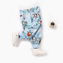 Chłopięce ubrania dla dzieci spodnie dla kotów spodnie dla maluchów spodnie dla niemowląt Legging Legging de pantalones de bebe 25 kwietnia tanie tanio ARLONEET Luźne Pants Unisex COTTON Na co dzień Pasuje prawda na wymiar weź swój normalny rozmiar Elastyczny pas for baby girl