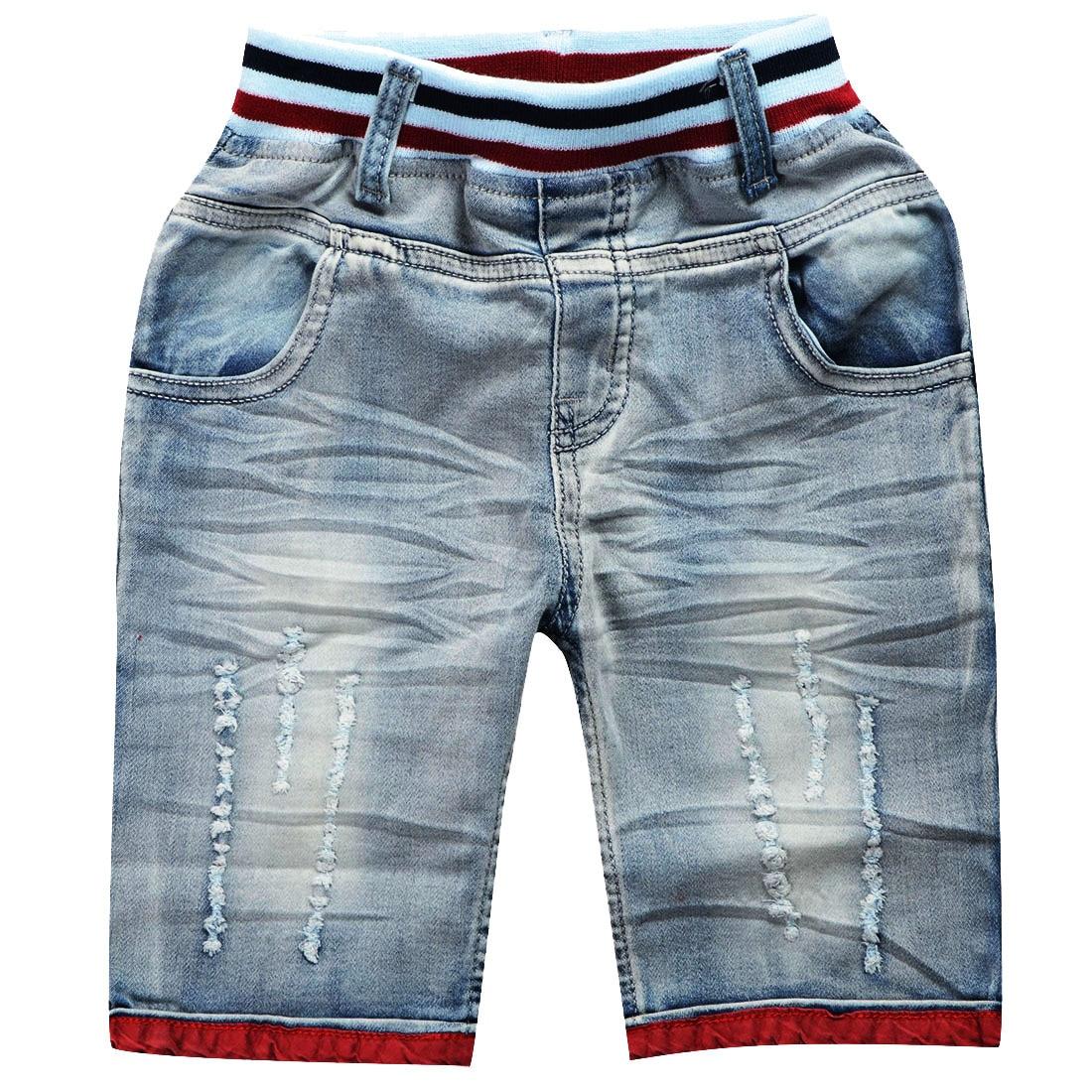 Childrens Unisex Casual Denim-Shorts